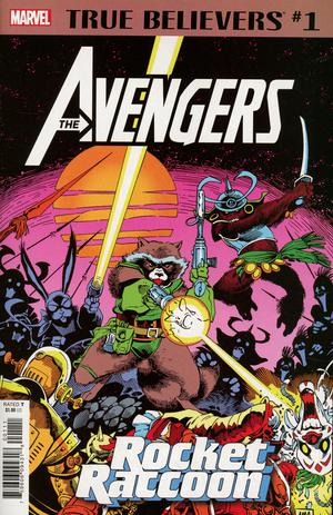 True Believers Avengers Rocket Raccoon #1