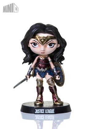 Wonder Woman Mini Co Mini Heroes Justice League Movie Collectible Figure