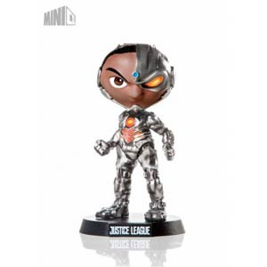 Cyborg Mini Co Mini Heroes Justice League Movie Collectible Figure
