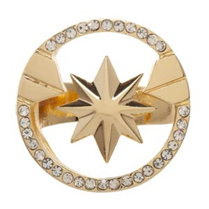 Captain Marvel Movie Logo Ring