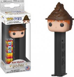 POP PEZ Harry Potter - Ron Weasley Sorting Hat