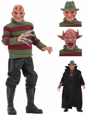 Nightmare On Elm Street New Nightmare Freddy Clothed 8-Inch Action Figure