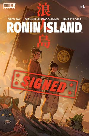 Ronin Island #1 Cover E Regular Giannis Milonogiannis Cover Signed By Greg Pak
