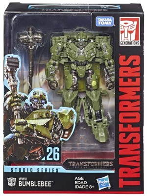 Transformers Studio Series 2019 Deluxe Class Action Figure - WWII Bumblebee