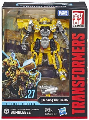 Transformers Studio Series 2019 Deluxe Class Action Figure - Clunker Bumblebee