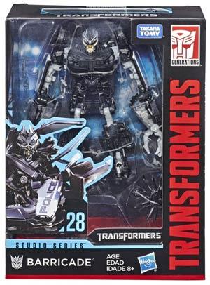 Transformers Studio Series 2019 Deluxe Class Action Figure - Barricade