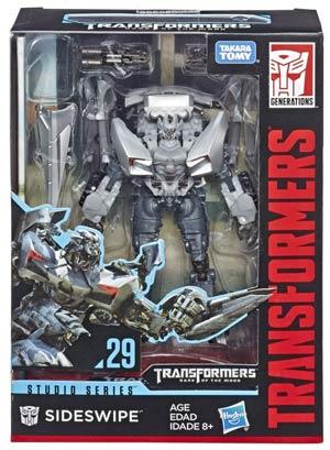 Transformers Studio Series 2019 Deluxe Class Action Figure - Sideswipe