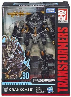 Transformers Studio Series 2019 Deluxe Class Action Figure - Crankcase