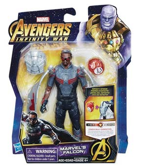 Avengers Infinity War 6-Inch Action Figure With Infinity Stone Assortment 201802 - Falcon