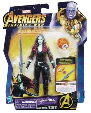 Avengers Infinity War 6-Inch Action Figure With Infinity Stone Assortment 201802 - Gamora