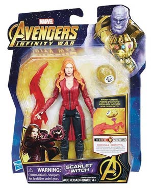 Avengers Infinity War 6-Inch Action Figure With Infinity Stone Assortment 201802 - Scarlet Witch