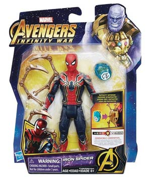 Avengers Infinity War 6-Inch Action Figure With Infinity Stone Assortment 201802 - Spider-Man