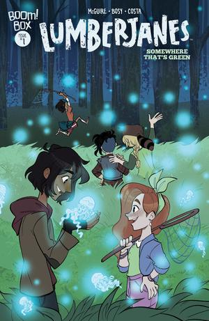 Lumberjanes Somewhere Thats Green #1 Cover A Regular Alexa Bosy Cover