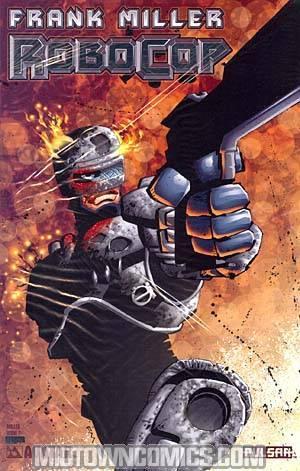 Robocop (Frank Millers) #2 Cover C Platinum Foil Incentive