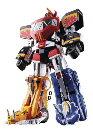 Soul Of Chogokin GX-72 Mighty Morphin Power Rangers Megazord (Re-Issue) Die-Cast Action Figure