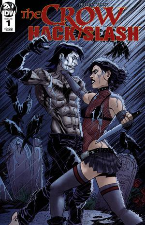 Crow Hack Slash #1 Cover A Regular Tim Seeley Cover