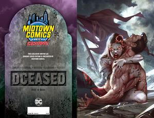 DCeased #1  Midtown Exclusive Cover C Inhyuk Lee Virgin Cover