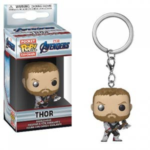 POP Marvels Avengers Endgame Thor Vinyl Pocket Keychain