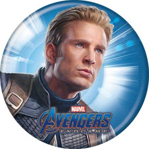 Avengers Endgame 1.25-inch Button - Captain America (87317)