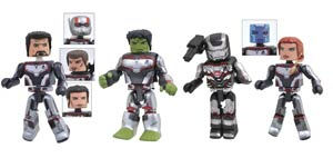 Marvel Avengers Endgame Minimates Box Set
