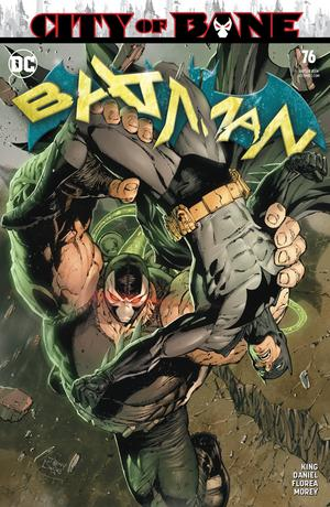 Batman Vol 3 #76 Cover A Regular Tony S Daniel Cover (Year Of The Villain Dark Gifts Tie-In)