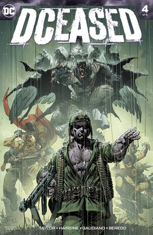 DCeased #4 Cover A Regular Andy Kubert Cover