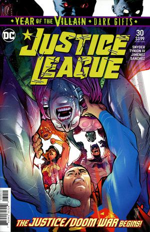 Justice League Vol 4 #30 Cover A Regular Francis Manapul Cover (Year Of The Villain Dark Gifts Tie-In)