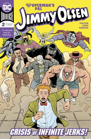 Supermans Pal Jimmy Olsen Vol 2 #2 Cover A Regular Steve Lieber Cover
