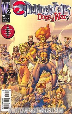Thundercats Dogs Of War #5 Cover A Brett Booth