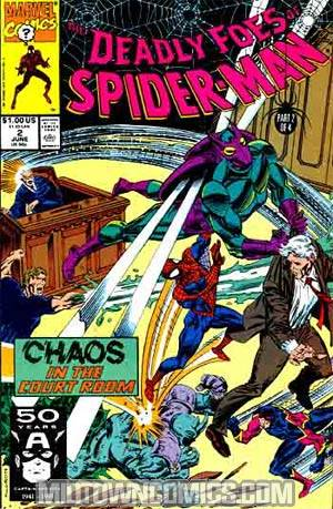 Deadly Foes Of Spider-Man #2