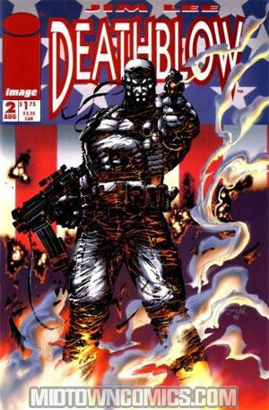 Deathblow #2 Cover A With Poster
