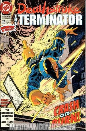 Deathstroke The Terminator #24