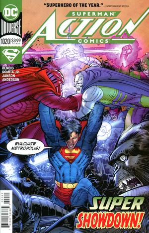 Action Comics Vol 2 #1020 Cover A Regular John Romita Jr & Klaus Janson Cover