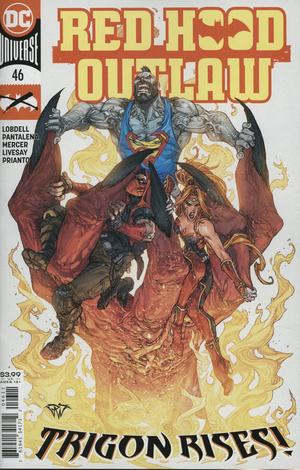 Red Hood Outlaw #46 Cover A Regular Paolo Pantalena Cover