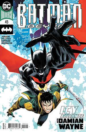 Batman Beyond Vol 6 #45 Cover A Regular Dan Mora Cover