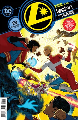 Legion Of Super-Heroes Vol 8 #8 Cover A Regular Ryan Sook Cover