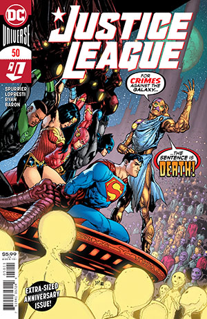 Justice League Vol 4 #50 Cover A Regular Doug Mahnke Cover