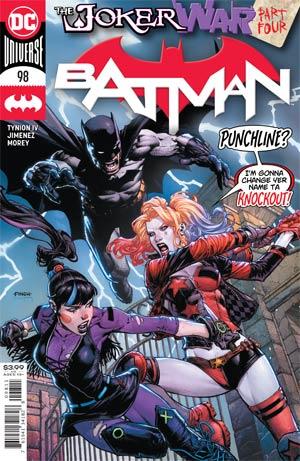 Batman Vol 3 #98 Cover A Regular David Finch Cover (Joker War Tie-In)