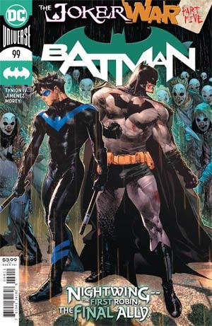 Batman Vol 3 #99 Cover A Regular Jorge Jimenez Cover (Joker War Tie-In)