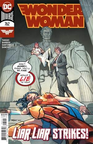 Wonder Woman Vol 5 #762 Cover A Regular David Marquez Cover