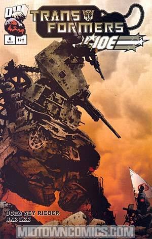 Transformers GI Joe #4