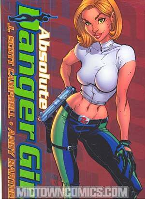 Absolute Danger Girl Oversized HC