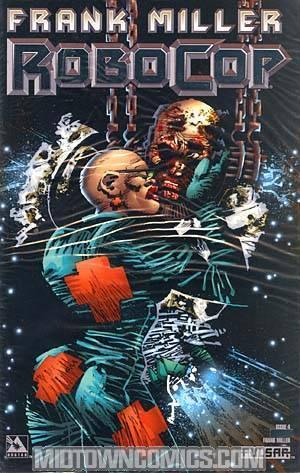 Robocop (Frank Millers) #4 Cover D Platinum Foil Incentive