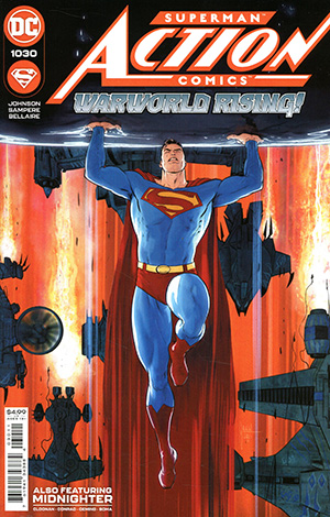 Action Comics Vol 2 #1030 Cover A Regular Mikel Janin Cover