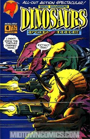 Dinosaurs For Hire Vol 2 #4
