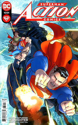Action Comics Vol 2 #1031 Cover A Regular Mikel Janin Cover