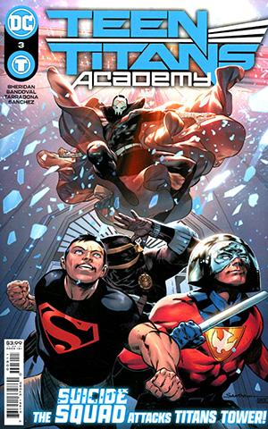 Teen Titans Academy #3 Cover A Regular Rafa Sandoval Cover