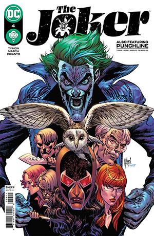 Joker Vol 2 #4 Cover A Regular Guillem March Cover