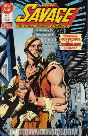 Doc Savage Vol 2 #1