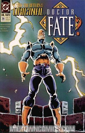 Doctor Fate Vol 2 #36